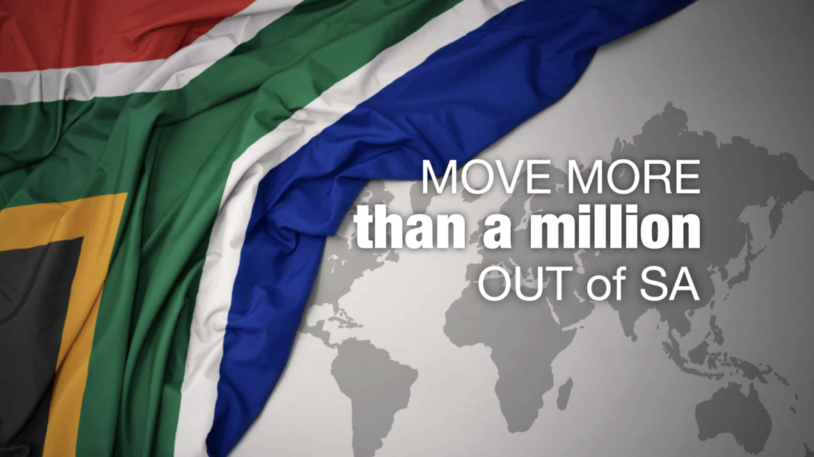 How to legally move > R1 mil out of South Africa?